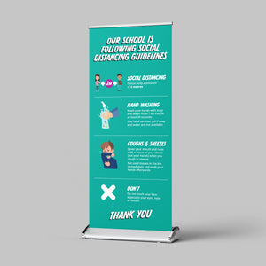 Pull Up Banner - Schools and Nurseries