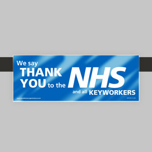 Shelf Talkers - Thank You NHS (Retail)