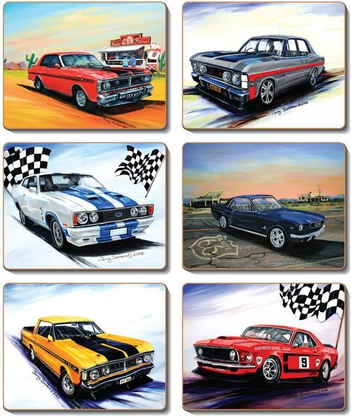 Muscle Cars Placemats