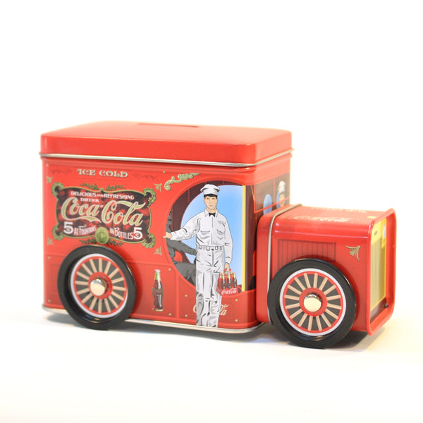 Coca Cola Truck Money Box