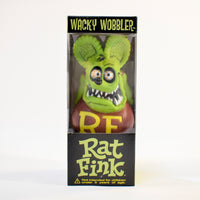 Rat Fink Wacky Wobbler Green