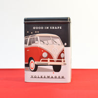VW Red Kombi Tin