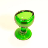 Vintage Green Glass Eye Bath
