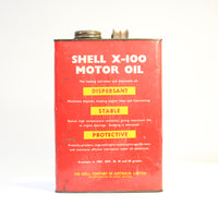 Shell X-100 1 Gallon Tin
