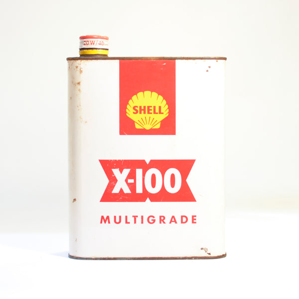Shell X-100 1 Quart Tin
