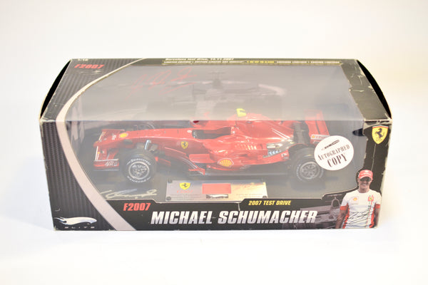 Signed by Michael Schumacher Ferrari F1 2007 Limited Edition 1:18