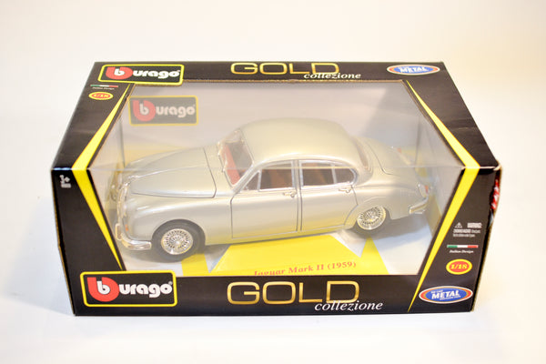 Burago Jaguar Mark 2 1959 1:18