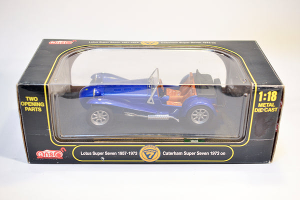 Anson Caterham Lotus Super 7 1:18