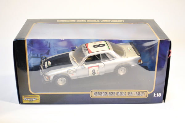 Mercedes-Benz 500 SLC 1981 Rally 1:18