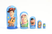 Toy Story Russian Nesting Dolls