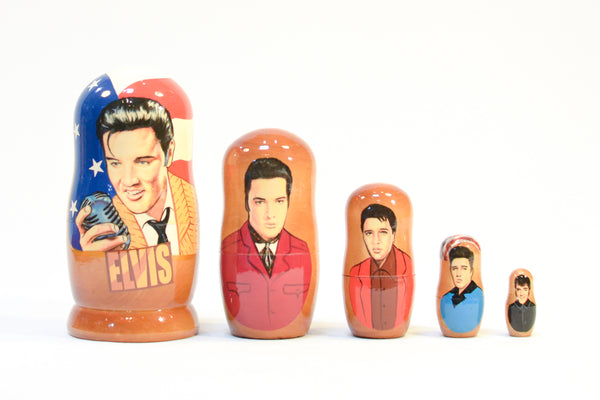 Elvis Russian Nesting Dolls