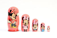 Minnie Mouse Russian Nesting Dolls