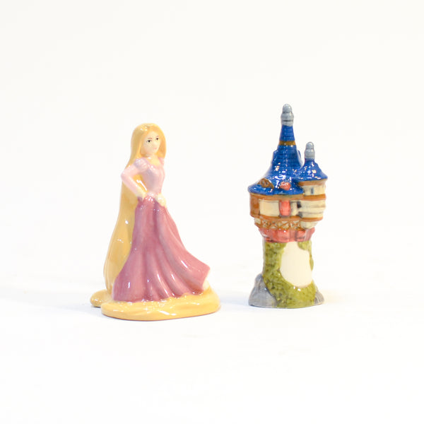 Disney Rapunzel Salt and Pepper Shakers