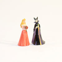 Disney Aurora and Maleficent Salt and Pepper Shakers