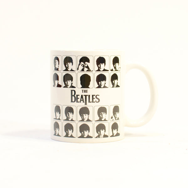 The Beatles White Hard Day's Mug