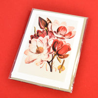 Blank Card Pink Magnolia