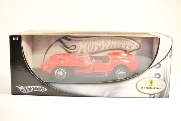 Hot Wheels Ferrari 250 Testa Rossa 1:18
