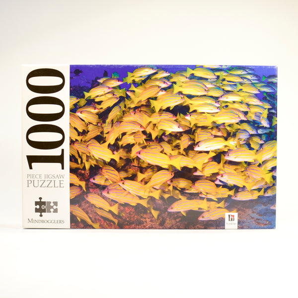Mindbogglers 1000pc Fish Puzzle