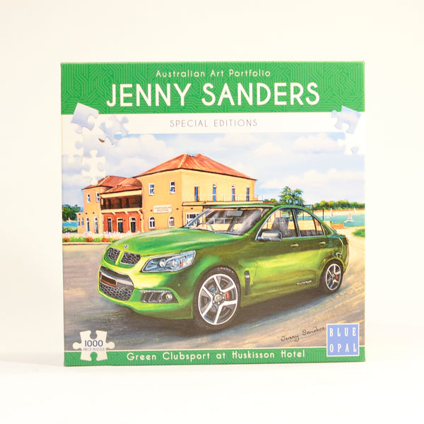 Jenny Sanders Green Clubsport 1000pc Puzzle
