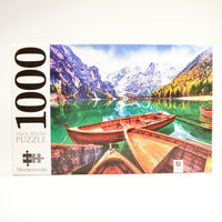 Mindbogglers 1000pc Braies Lake, Italy Puzzle