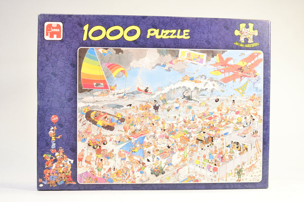 Jan Van Haasteren Beach 1000pc Puzzle