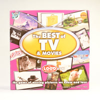 The Best of TV and Movies Logo Board Game