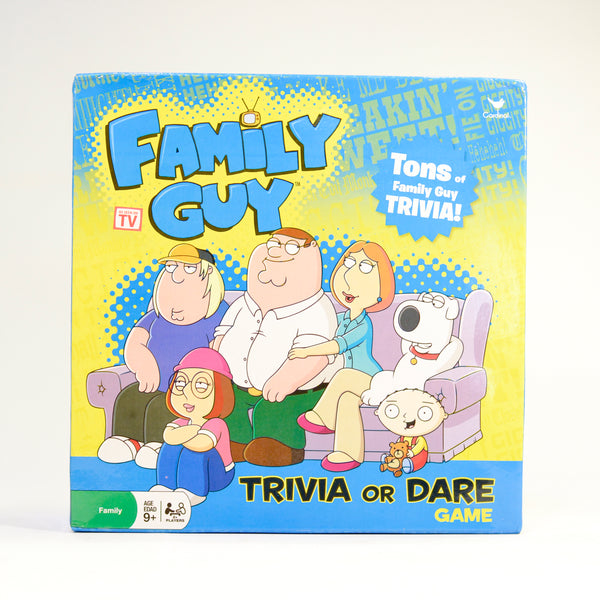 Family Guy Trivia or Dare Game