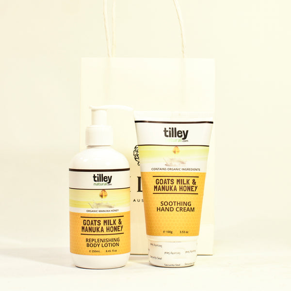Tilley Goats Milk and Manuka Honey Gift Pack