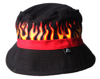 Flame Bucket Hat