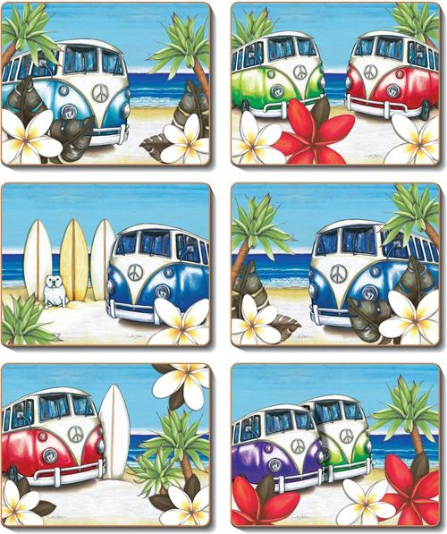 Beach Kombi Placemats