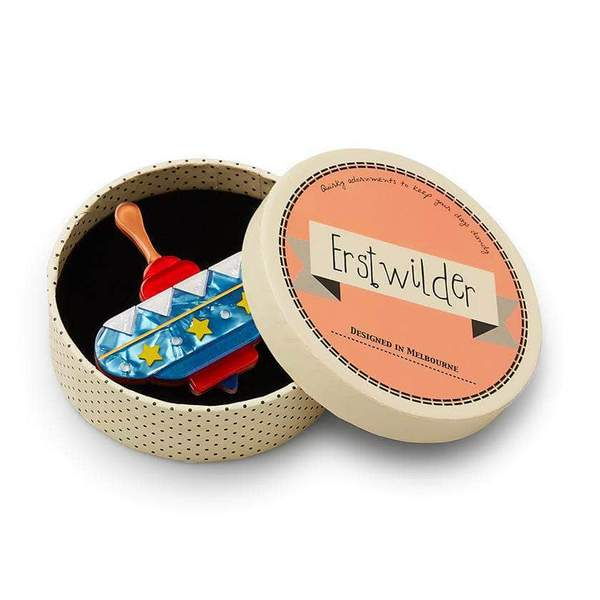 Erstwilder Spinning Around Toy Brooch