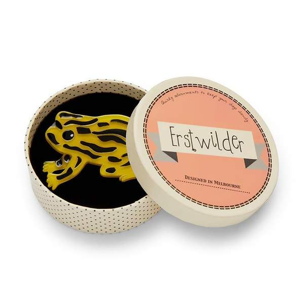 Erstwilder Tiny Toxic Tim Brooch