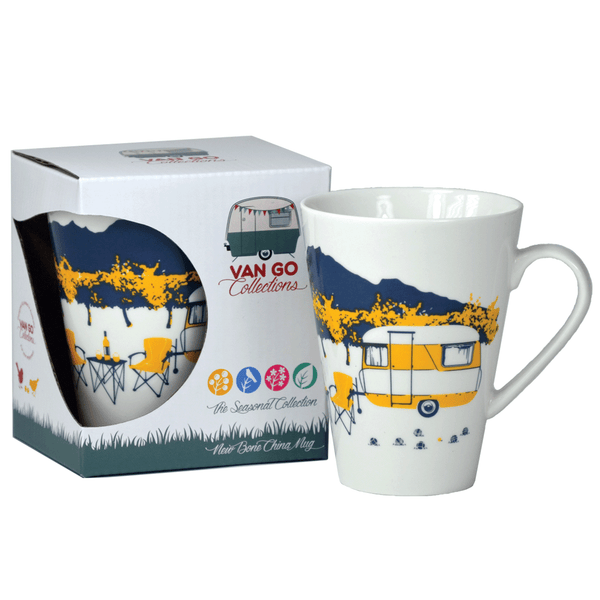 Caravan China Mug Autumn