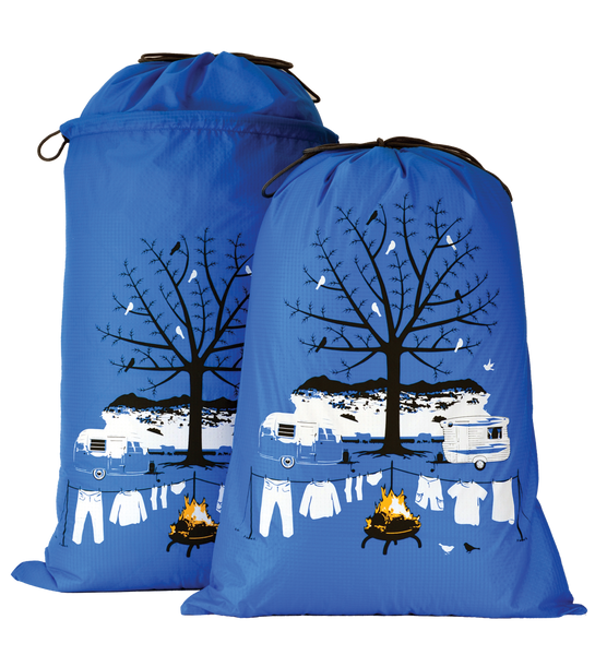 Caravan Expandable Laundry Bag Winter
