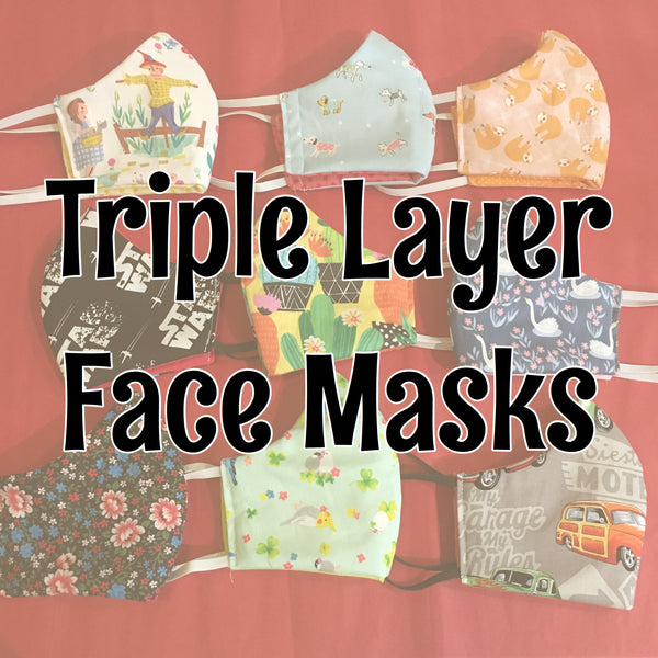 Triple Layer Face Mask