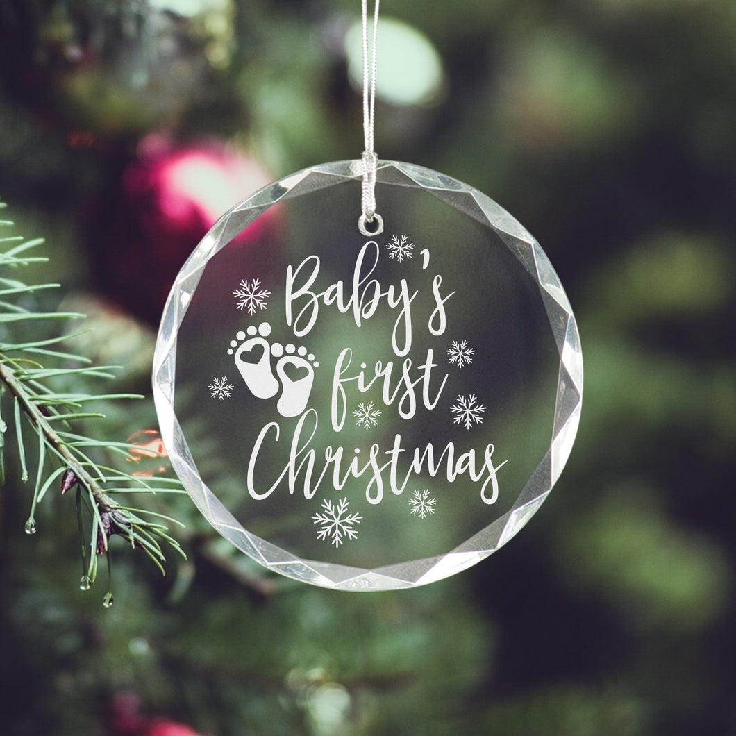 Baby's First Christmas Ornament - Sacha & Co