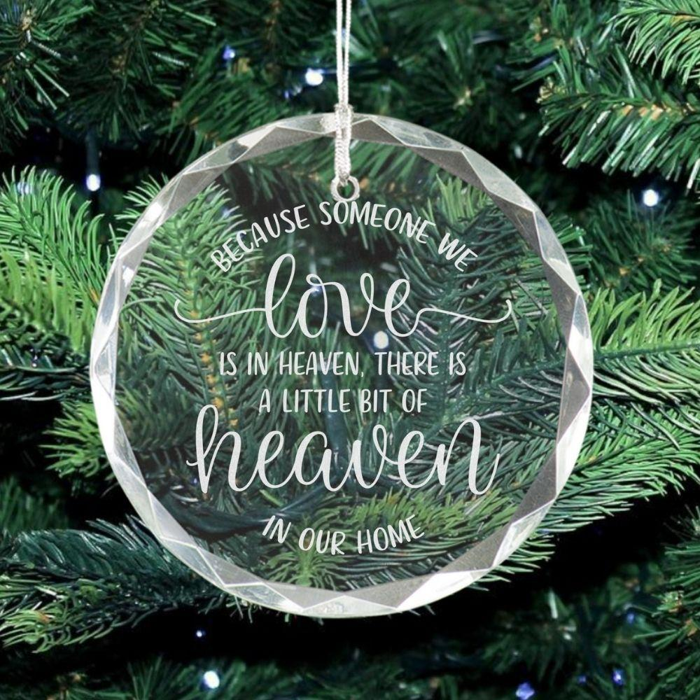 Christmas Memorial Ornament - Sacha & Co