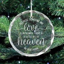 Load image into Gallery viewer, Christmas Memorial Ornament - Sacha & Co