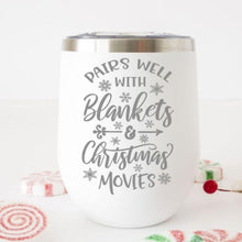 Load image into Gallery viewer, Christmas Wine Tumbler - Sacha & Co
