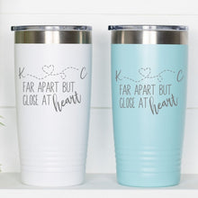 Load image into Gallery viewer, Far Apart Close at Heart Customized Travel Mug - Sacha & Co