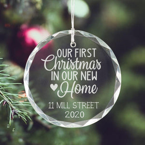 First Christmas in New Home Ornament 2020 - Sacha & Co