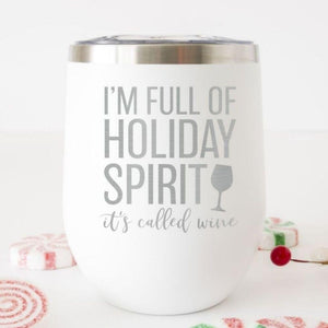 Funny Christmas Wine Tumbler - Sacha & Co