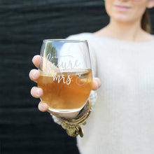 Load image into Gallery viewer, Future Mrs Wine Glass - Sacha & Co