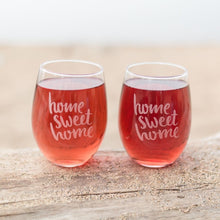 Load image into Gallery viewer, Home Sweet Home Glasses - Set of 2 - Sacha & Co