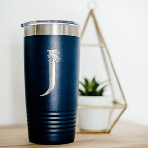 Initial Travel Mug - Sacha & Co