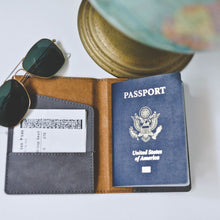 Load image into Gallery viewer, Men's Passport Holder - Sacha & Co
