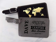 Load image into Gallery viewer, Mens Personalized Luggage Tag - Sacha & Co