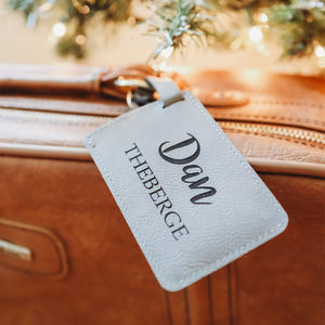 Mens Personalized Luggage Tag - Sacha & Co