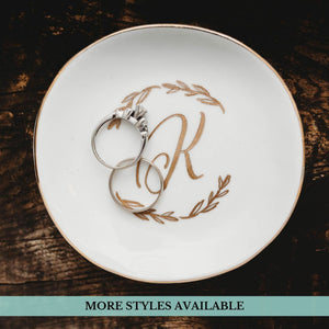 Monogrammed Jewelry Dish - Sacha & Co