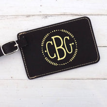 Load image into Gallery viewer, Monogrammed Luggage Tag - Sacha & Co